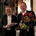 Hans Joachim Schilgen und der neue Vorsitzende des Vorstandes Volkmar Halbe
