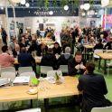 Das wineo Festivalgelände sorgte  für viel Aufmerksamkeit und erfreute sich durchgängig hoher Besucherfrequenz.